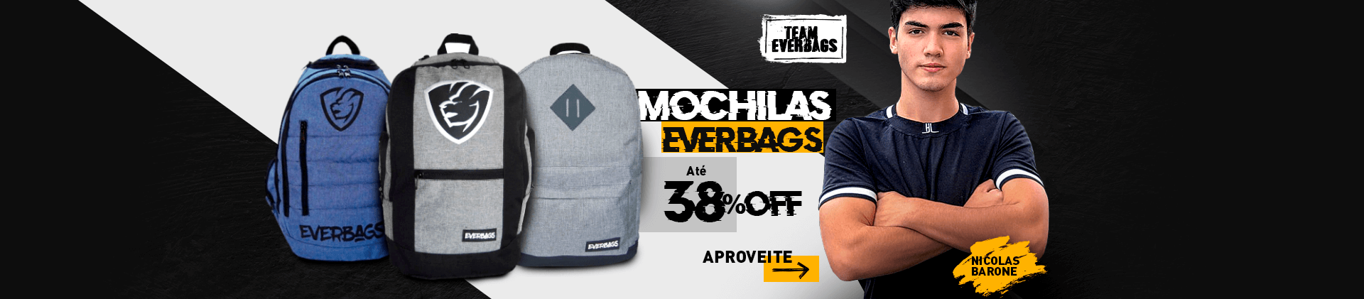 Mochilas Everbags