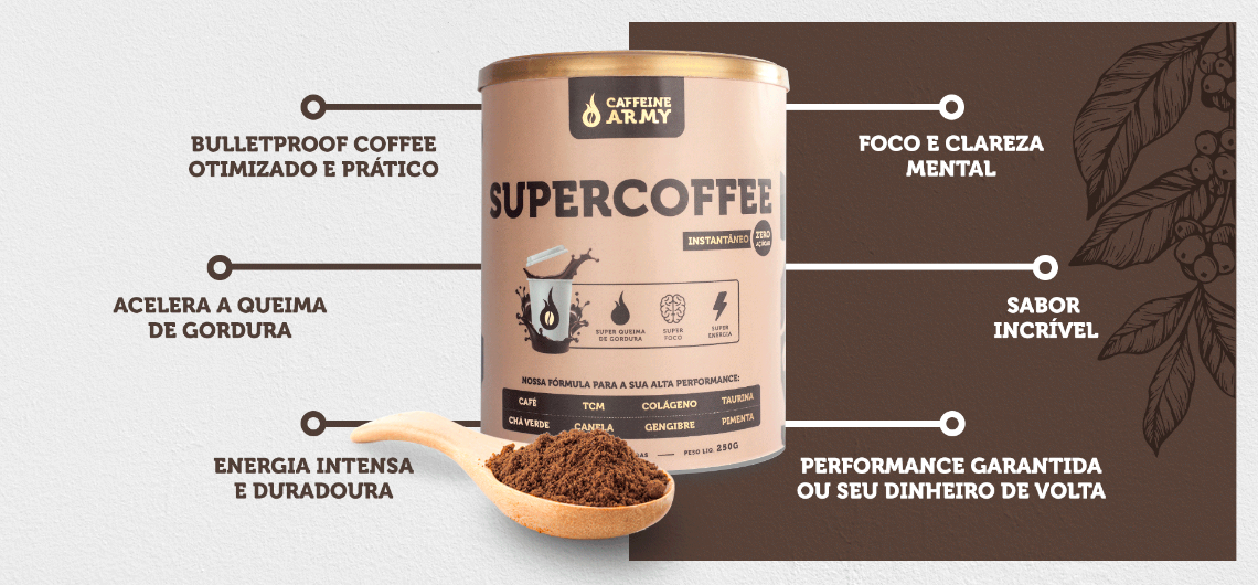 Super Coffee - Caffeine Army - 220g