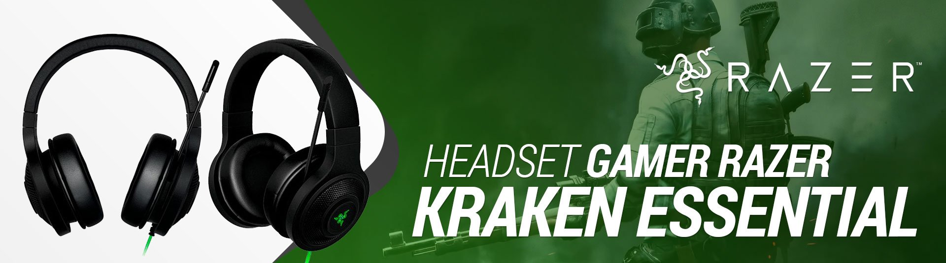 Headset Gamer - Kraken Essential