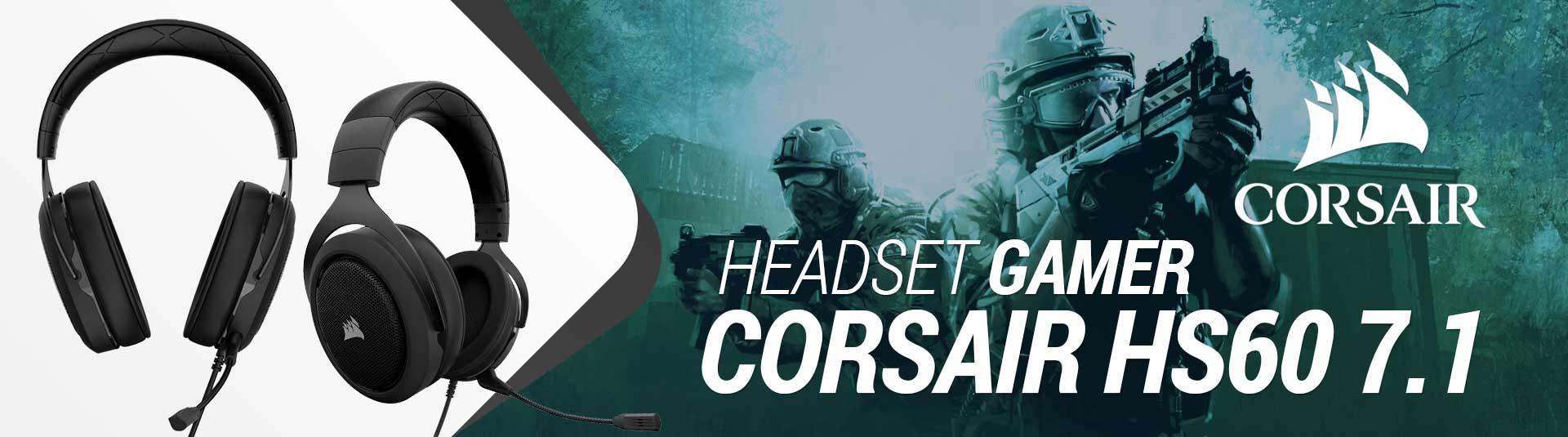 Headset Gamer Corsair HS60 7.1