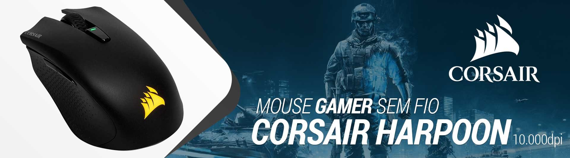 Mouse Gamer Wireless Corsair Harpoon