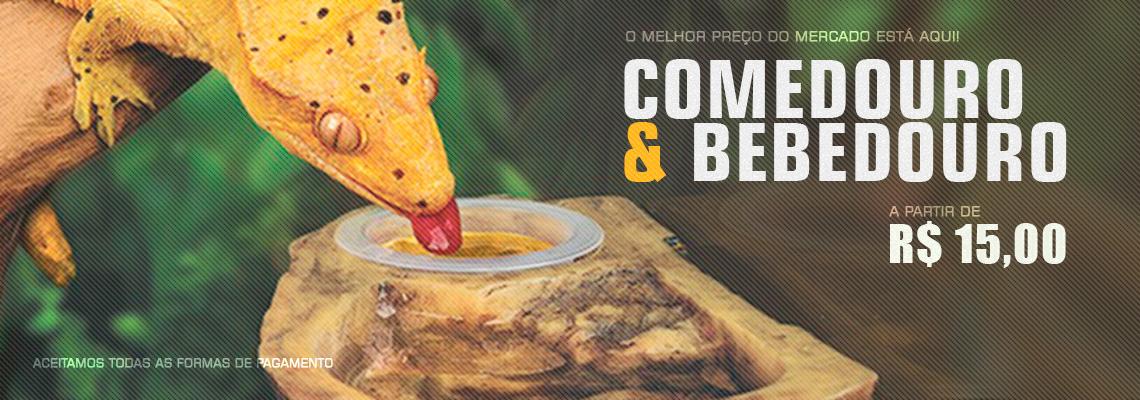Comedouro E bebedouro 15 reais