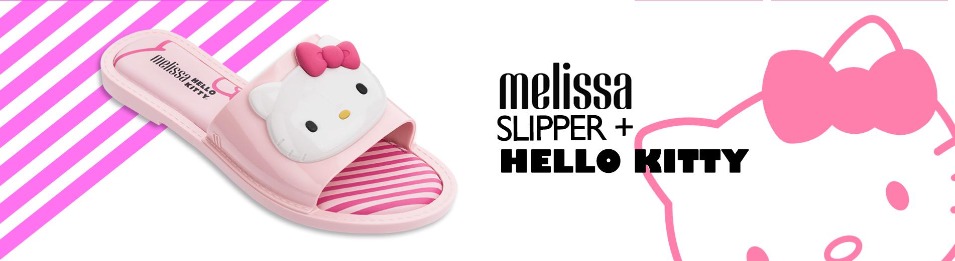 melissa slipper hello kitty