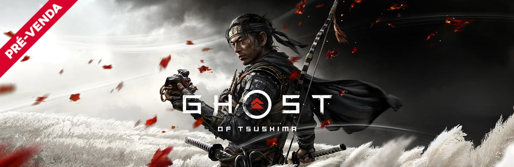 Ghost of Tsushima pre-venda
