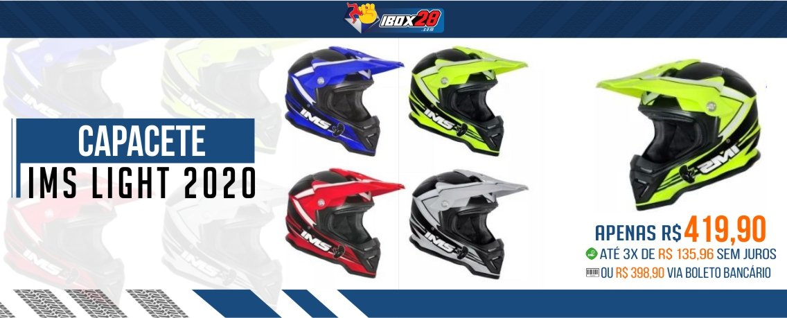 CAPACETE IMS LIGHT 2020