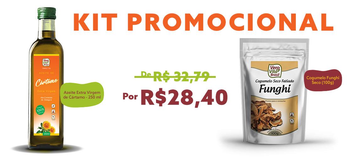 Kit Promocional - Azeite e Funghi