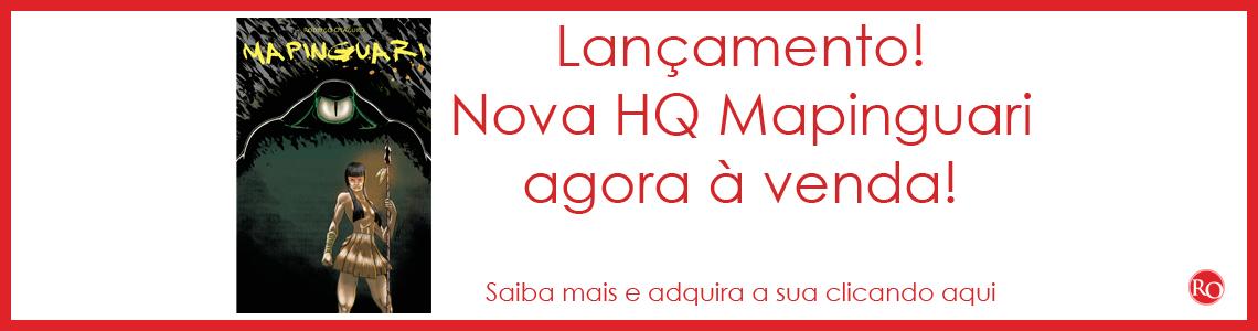 Lançamento Mapinguari HQ