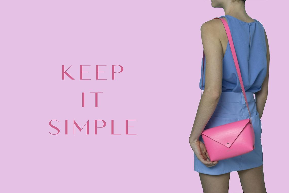 Bolsa 'Iris' Keep It Simple