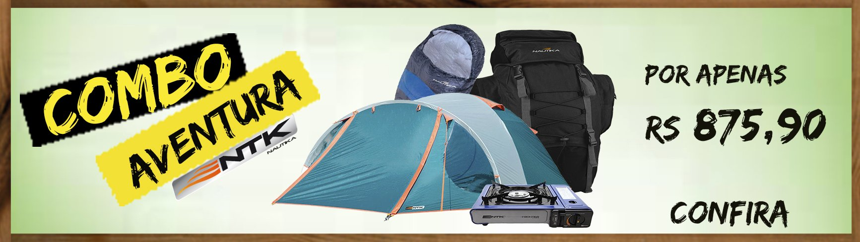 Combo Kit Camping NTK