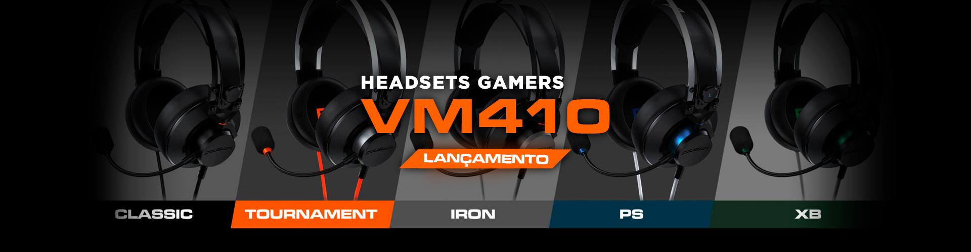 Novos Headset VM410