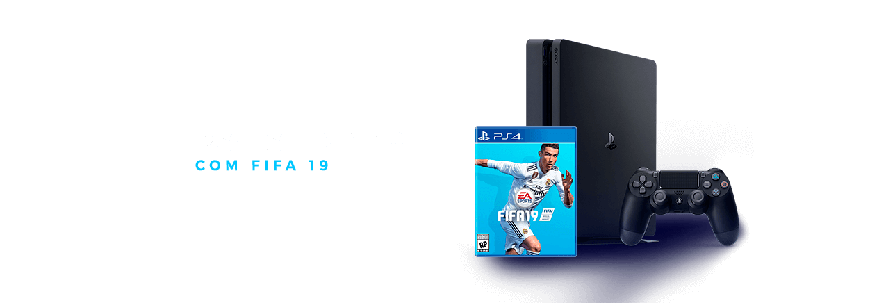 Dez/2018 #2 | PS4 Slim 1TB + Fifa