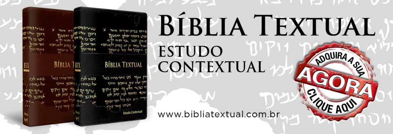 BÍBLIA TEXTUAL - BV BOOKS