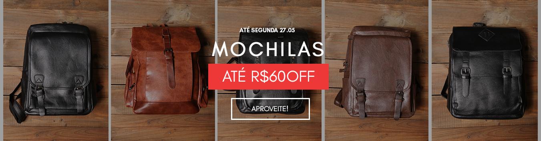 Mochilas com R$60 até off
