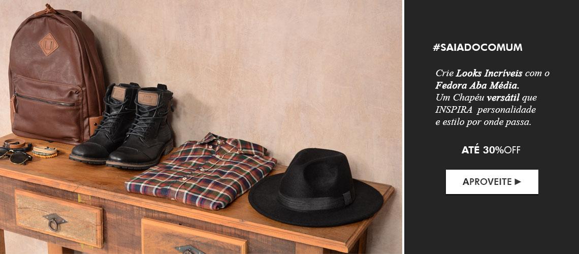 Chapéu Fedora Clássico