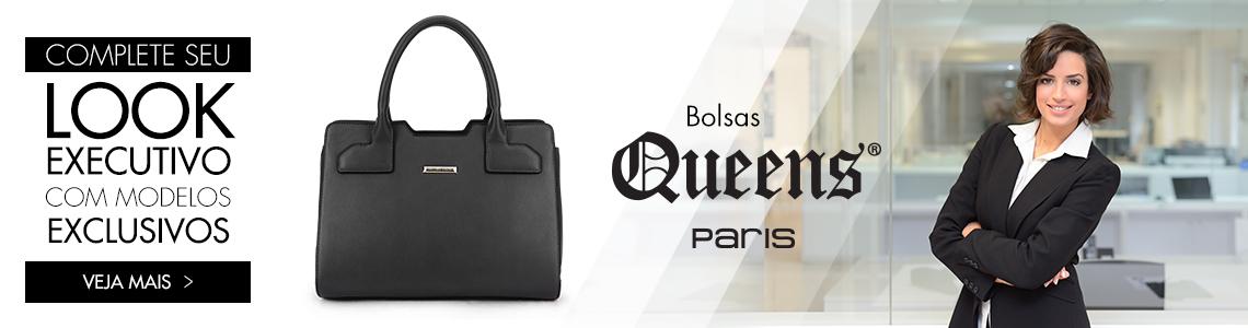 Complete seu look executivo com uma bolsa Queens Paris