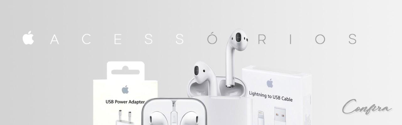 Baner acessórios Apple