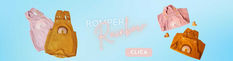 ANTIGO - Romper Rainbow