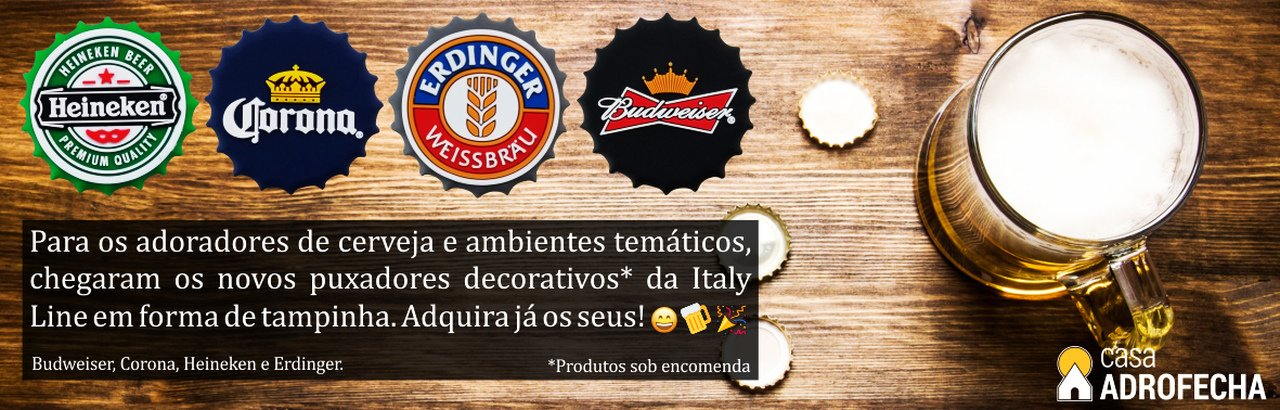 Puxadores Cerveja Italy Line