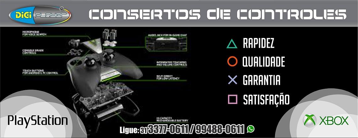 CONSERTO DE CONTROLES