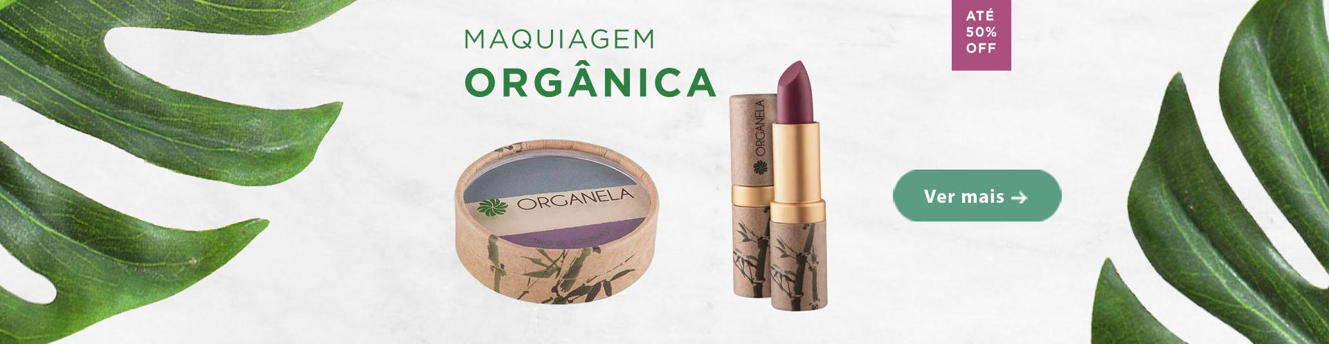 Maquiagens orgânicas