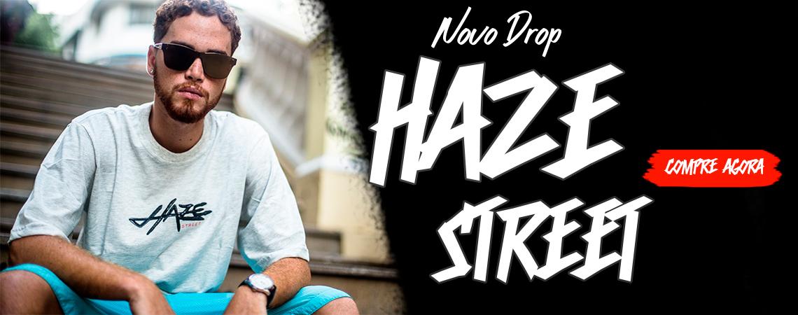 Camisa Haze Street com fundo