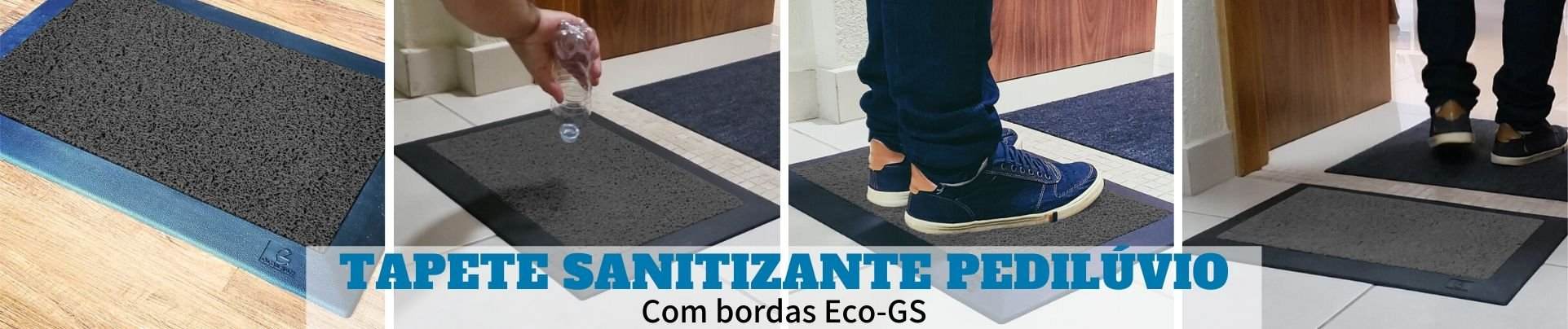 Pedilúvio com borda Eco-GS