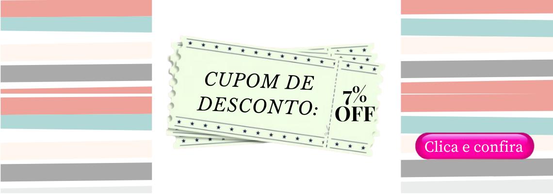 CUPOM DE DESCONTO 7%OFF