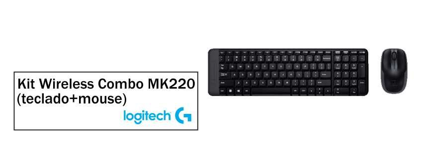 Kit Logitech Wireless Combo - MK220 1