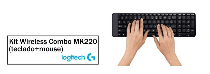 Kit Logitech Wireless Combo - MK220 3
