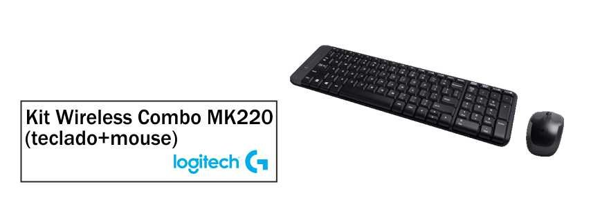 Kit Logitech Wireless Combo - MK220 2