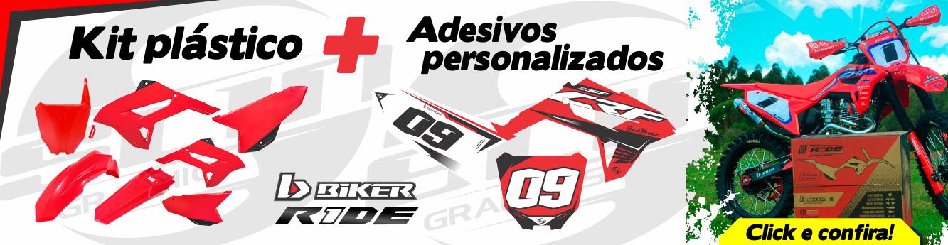 Biker + Adesivo