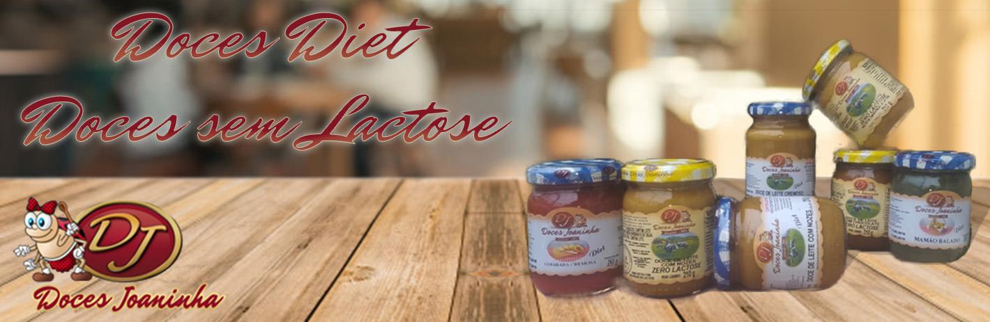 Doces Diet e Sem Lactose