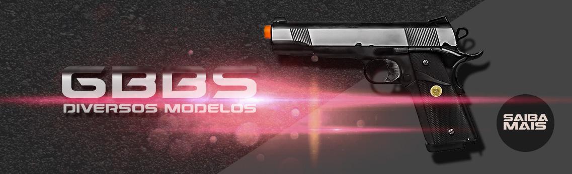 Pistolas GBB