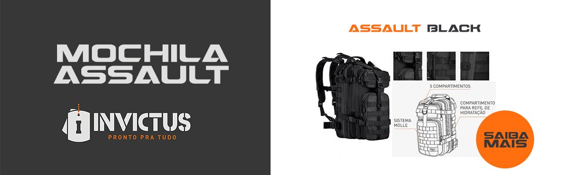 Mochila Assault Invictus