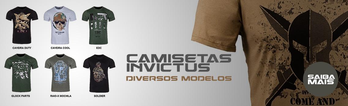 T-shirts invictus