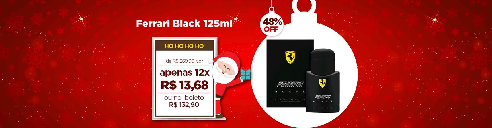 Natal Ferrari Black