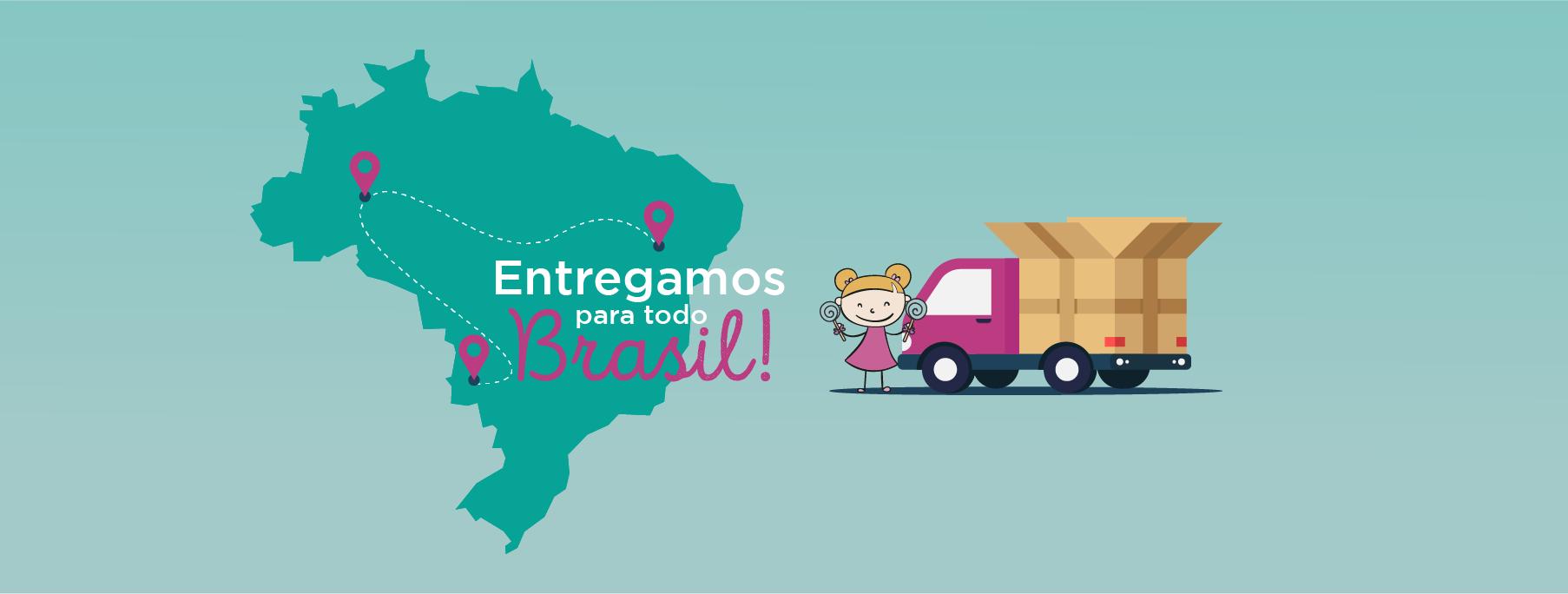 Entrega para todo Brasil