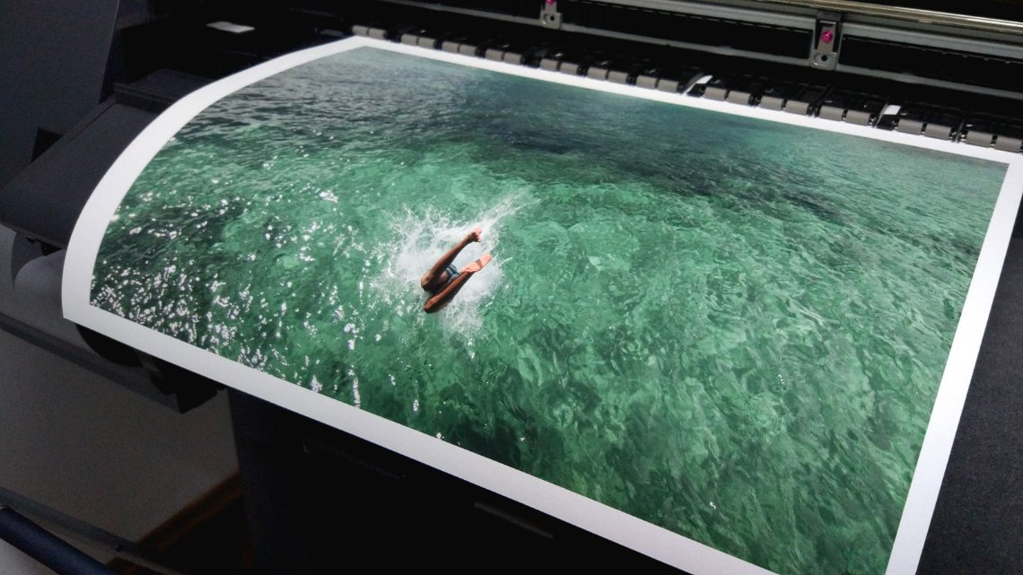 print mergulho