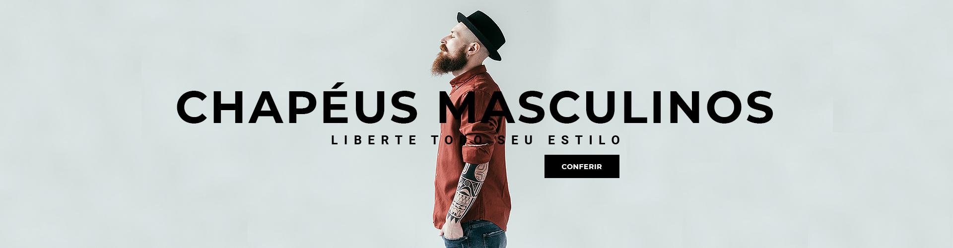 Banner Chapéus Masculinos