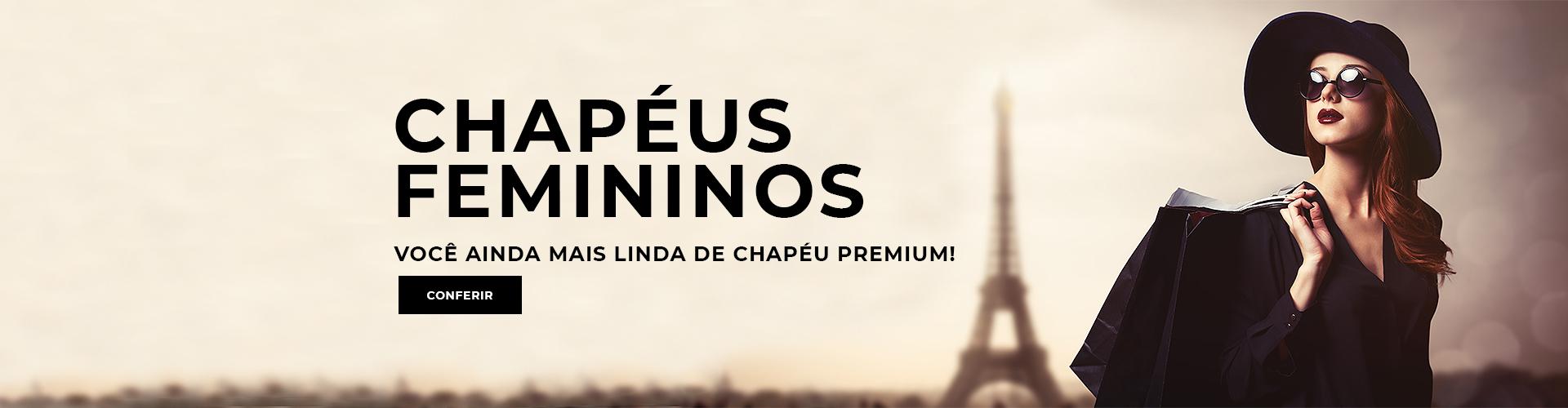 Chapéus Femininos www.chapeupremium.com.br