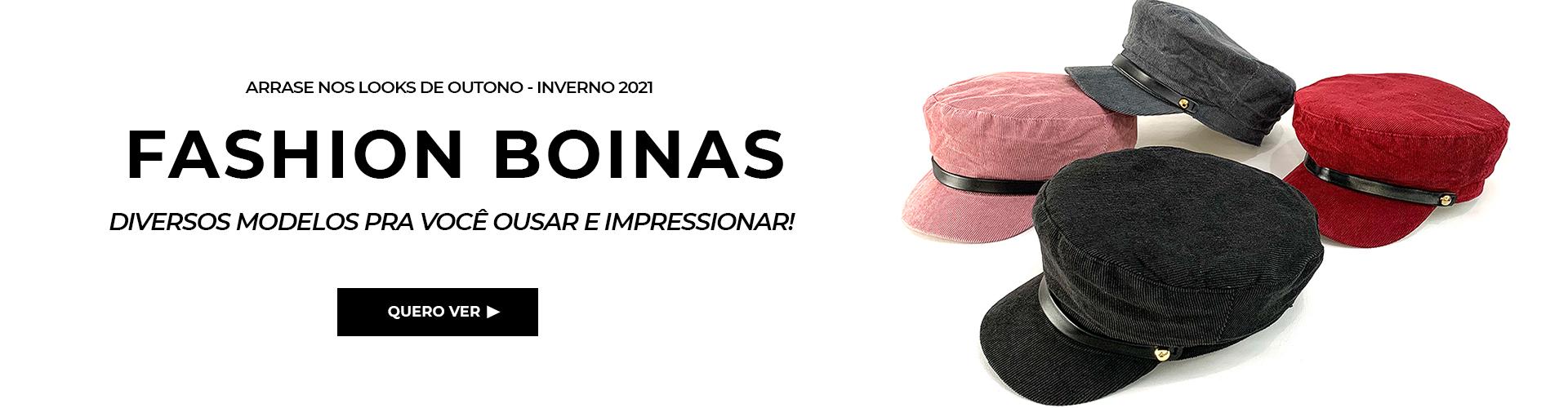 Boinas Fashion www.chapeupremium.com.br