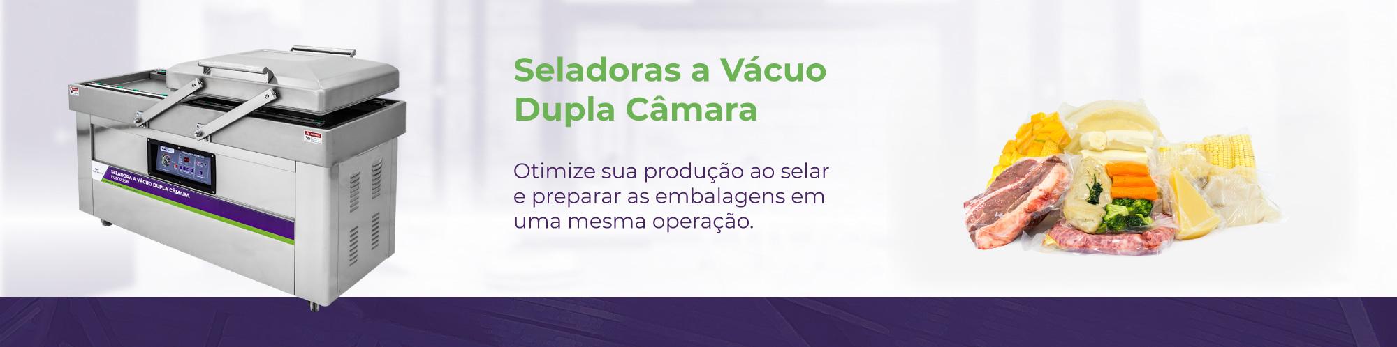 Categorias - Seladoras a Vácuo dupla câmara