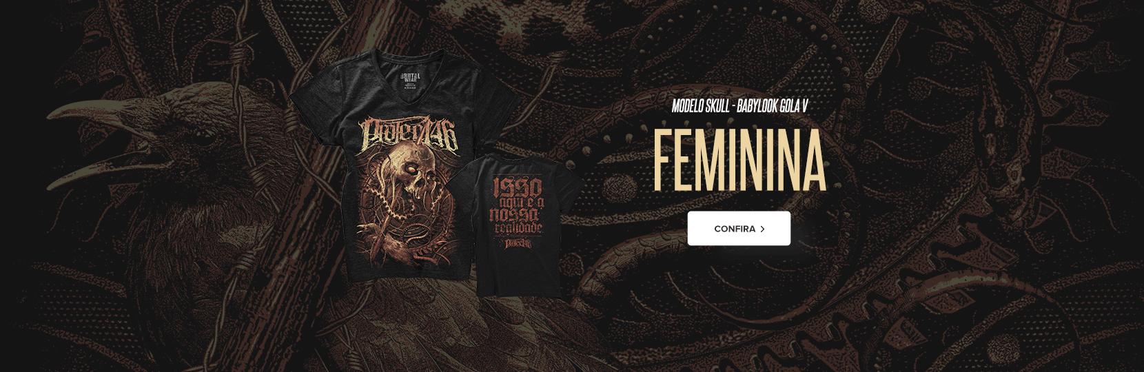 Skull Feminina