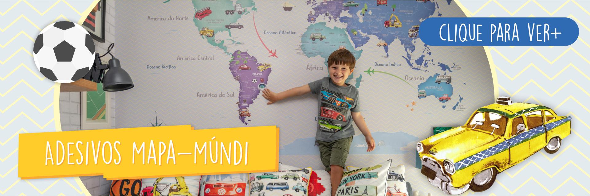 Full Banner Mapa Mundi
