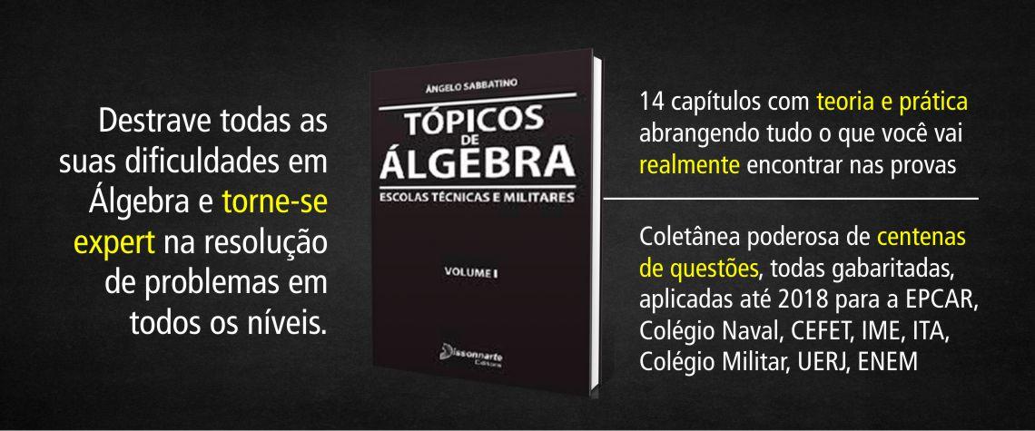 Tópicos de Álgebra volume I