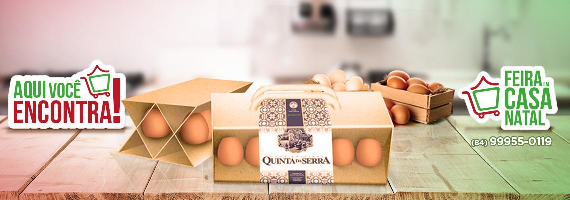 Ovos Caipiras Quinta da Serra