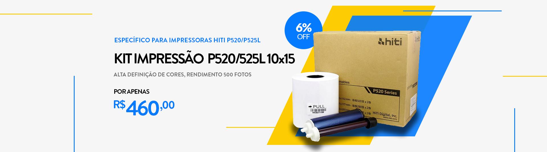 Papel HiTi P520/P525L 10X15