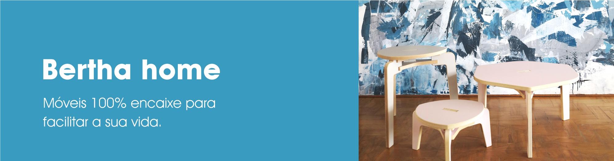 Banner - tela azul bancos e mesa