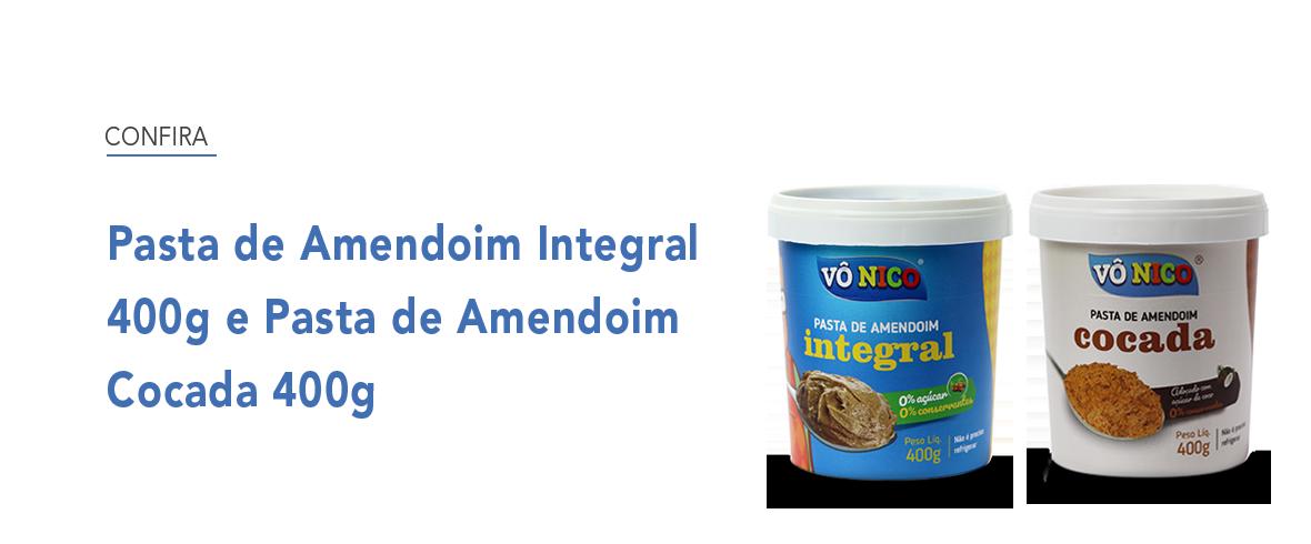 Full Banner - Pasta de amendoim Integral e Cocada