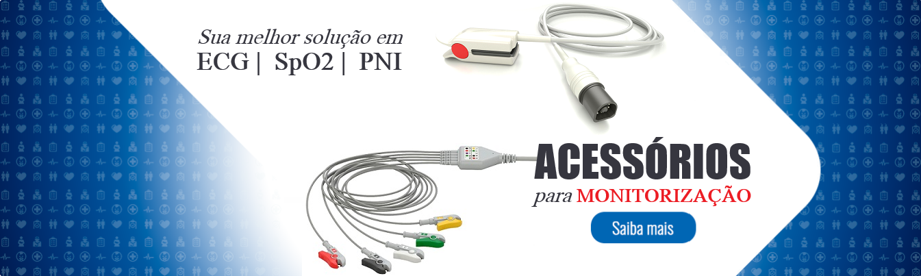 ACESSORIOS ECG SPO2